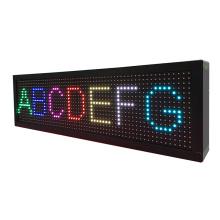 P8 Sete Cores 4 Dígitos Tela de Mensagem LED