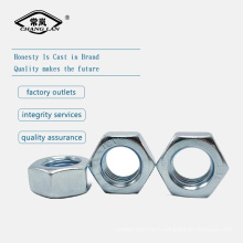 DIN934 Galvanized hexagon nut