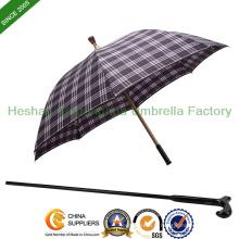 Bâton de marche parapluie incassable double objectif (SU-0023AAFA)