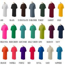 Custom Design Round Neck T Shirt / T Shirt Wholesale China/120GSM T-Shirt/1 Dollar T Shirts