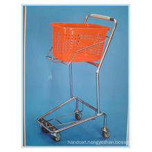 Zinc Plated Hand Shopping Carts