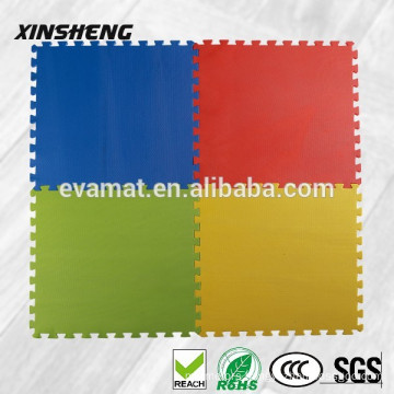 2cm thick Interlocking anti slip EVA flooring mat for children