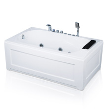 ProFlex Acrylic Rectangle Corner Whirlpool Bathtub