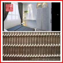 Luxurious metal decorative mesh for doors