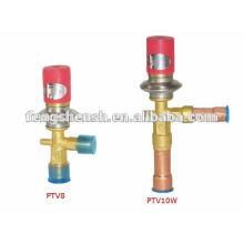 PTV10W Válvula de Expansão de Pressão Constante (bypass de gás quente)