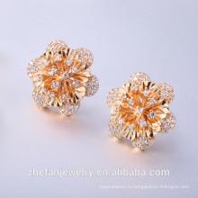 розовое золото серьги оптом серьги и традиционные рынки Родием ювелирные изделия-ваш хороший выбор