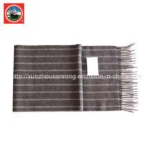 Cachecol de malha de lã de iaque / vestuário de caxemira / lã de camelo malhas