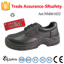SRSAFETY 2016 safety shoes emboss cow split leather safety shoes working shoes