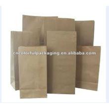 Bolsas de embalaje de café claro de papel kraft