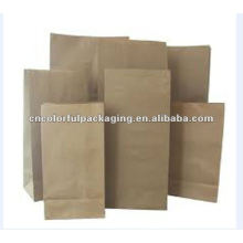 clear stand-up kraft paper coffee packaging bags