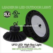 O UL cUL DLC alistou a iluminação alta industrial da baía do diodo emissor de luz da iluminação 100w, a baía alta do diodo emissor de luz & a baixa iluminação da baía