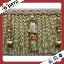 cloth brush tassel bullion fringe
