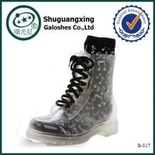 Mode Gummiregen Stiefel für Frauen B-817
