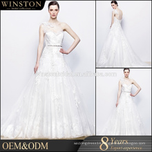 Alibaba Guangzhou Dresses Factory layered organza wedding gowns