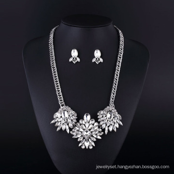 2016 Fashion Gold Fish CZ Rhinestone Zinc Alloy Necklace Sets