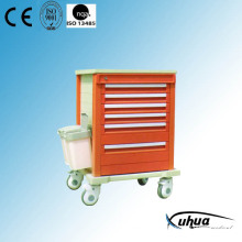 ABS Plastic Mobile Hospital Medical Medication Cart (P-5)