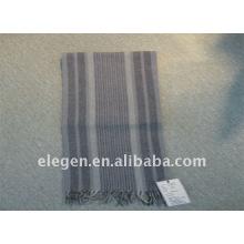 Wool print scarf