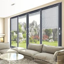 Puertas de cortina de aluminio de diseño profesional ventanas