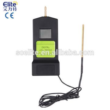 Probador digital de la cerca eléctrica para el alambre de la cerca de la cinta de la cerca de la línea de cerca