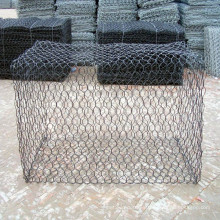 Cesta hexagonal galvanizada de Gavión de 2,4 mm