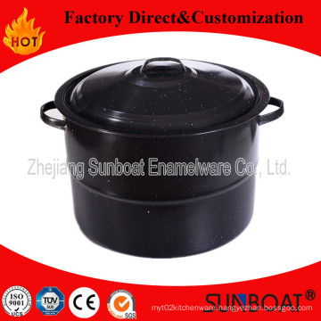 Sunboat 33qt Enamel Stock Pot Cookware /Enamel Steamer
