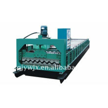 QJ automática 750 panel de techo rodillo máquina