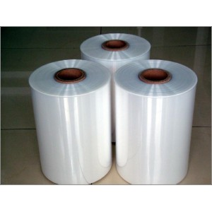 Clear plastic PVC shrink film