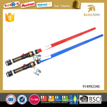 Горячий телескопический пластиковый красный меч