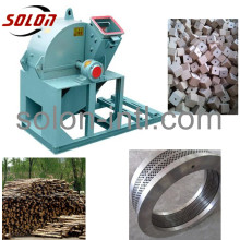 Timber Mill sawdust wood waste crusher machine