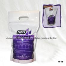 Застежка -молния с выдвижной сумкой для химической упаковки с ручкой