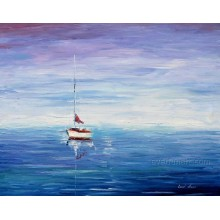 Home Decor Wholesale Seascape Oil Paintings on Canvas (KVS-012)