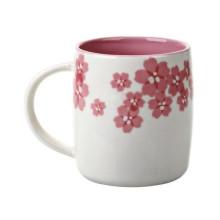 Starbucks Kaffee, der Sakura-Becher schnitzt