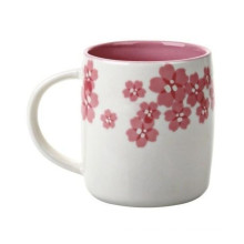 Starbucks Coffee Carving Sakura Mug