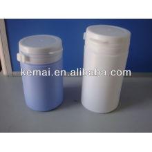 Botella de plástico para goma de mascar