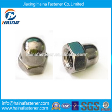 DIN1587 Hexagon Domed Cap Nut Stainless Steel Hex Cap Nut