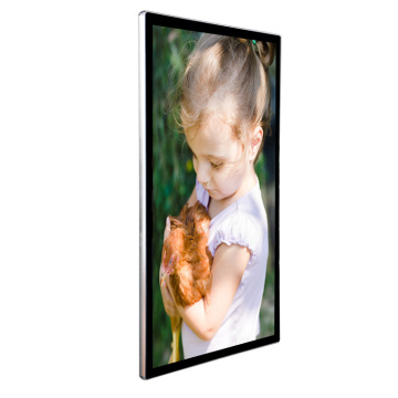 """65"""" lcd infrared touch screen live streaming"""