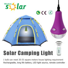 2015 neue Produkt tragbaren PC camping Solarleuchte mit 1/2/3 PCS LED-Leuchten