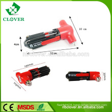 High quality 3 led and car emergency hammer with screwdriver