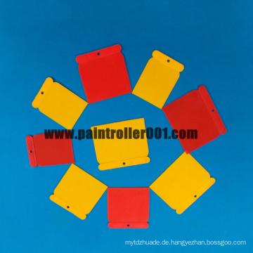 Farbroller oder Paint Tools Mini Farbschaber