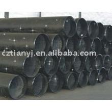 Tuyau en acier galvanisé ASTM A179 Tuyau en gaz laminé à chaud en provenance de Chine