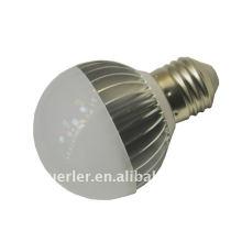 E27 b22 alta potencia led bombilla luz 3w 220v BOB