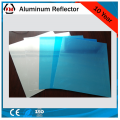 Reflector bowl lamp shade material aluminum mirror sheet