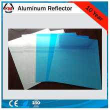 reflective metal panels for lighting reflectors