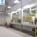 SMS non-woven fabric three-in-one combined machine
