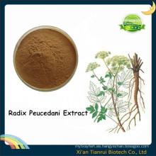 Extracto de raíz de Hogfennel en polvo, extracto de Radix Peucedani
