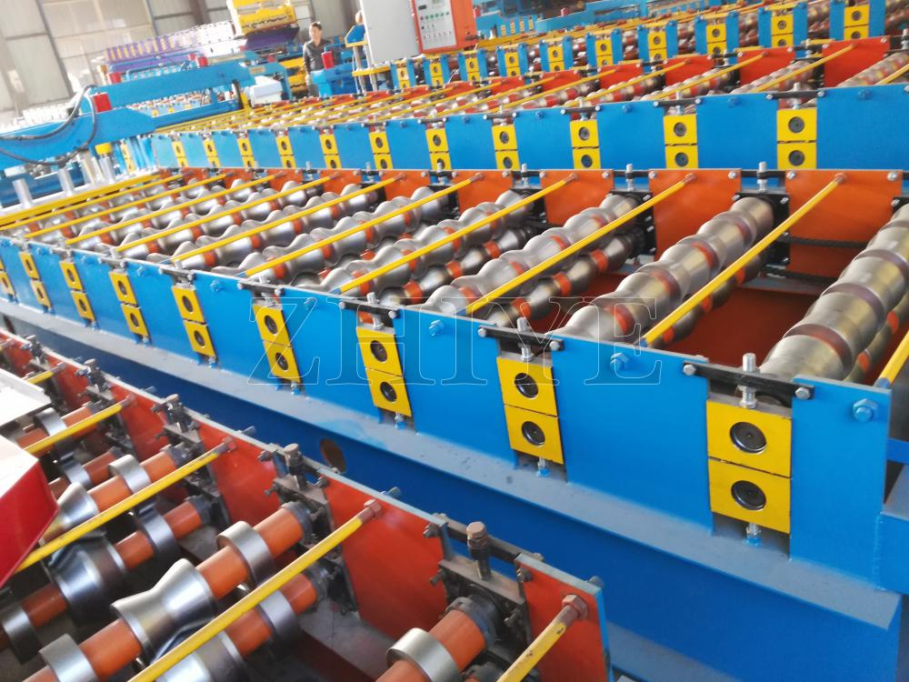 Botou PPGI Glazed Tile Production Line