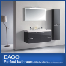 MDF Double Basins Bathroom Vanity Combo (PC085-4ZG-1)