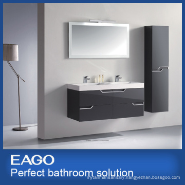 MDF Double Basins Bathroom Vanity Combo (PC085-4ZG-1)
