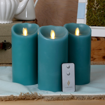 luminara led candle set