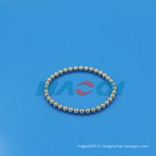 Forme de boule biothérapie bracelet néo-aimant